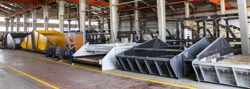 ساخت تجهیزات معدنی
